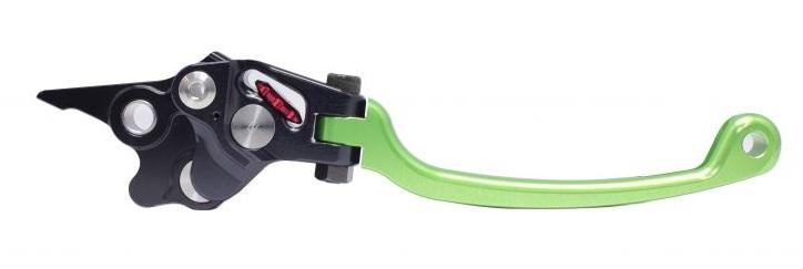 STFブレーキレバー グリーン ACTIVE(アクティブ) GSX1300R/ABS(08〜09年/14〜17年)