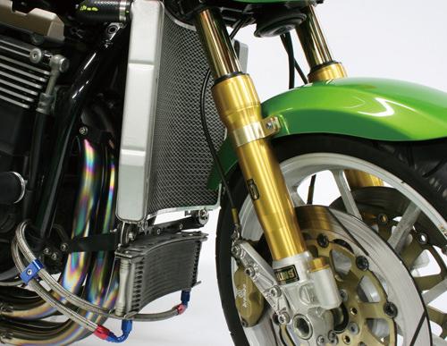 ビッグラジエーターキット シルバー ACTIVE(アクティブ) ZRX1200(01〜08年)