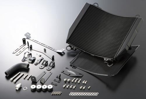 ビッグラジエーターキット ブラック ACTIVE(アクティブ) ZRX1200(01〜08年)