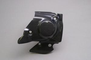 フロントスプロケットカバー カーボンケプラ A-TECH(エーテック) CB1300SF(98〜02年)