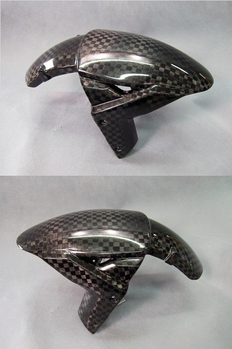 フロントフェンダーSTD 開繊ドライカーボン(KDC) A-TECH(エーテック) ZX-10R(16年〜)