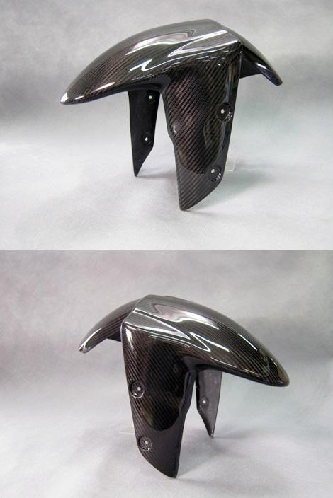 フロントフェンダーSPL 綾織ドライカーボン(DC) A-TECH(エーテック) ZX-10R(16年〜)