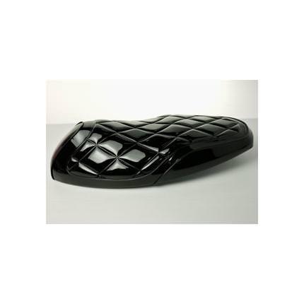 キルティングシート エナメルブラック DCR(ディーシーアール) アドレスV125(ADDRESS)