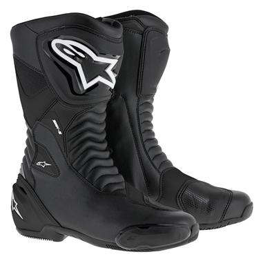 SMX-S ツーリングブーツ ブラック/ブラック 39/25.0cm アルパインスターズ(alpinestars)