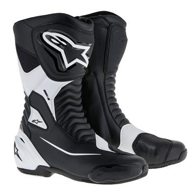 SMX-S ツーリングブーツ ブラック/ホワイト 41/26.0cm アルパインスターズ(alpinestars)