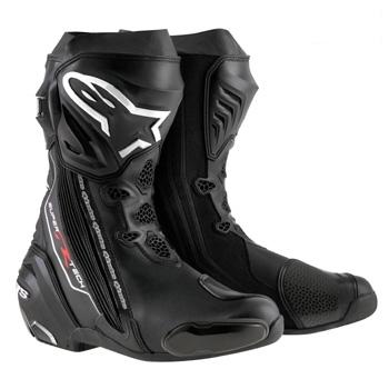 スーパーテックR ブーツ ブラック 42/26.5cm アルパインスターズ(alpinestars)