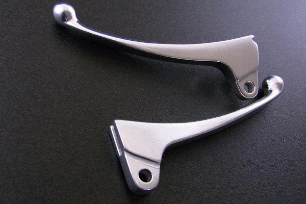 左右セットレバー カラー(シルバー) ALBA(アルバ) ジャイロX