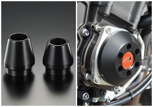 レーシングスライダー フレーム(φ60)+クランク ジュラコン/ブラック AGRAS(アグラス) MT-10/SP (17年)