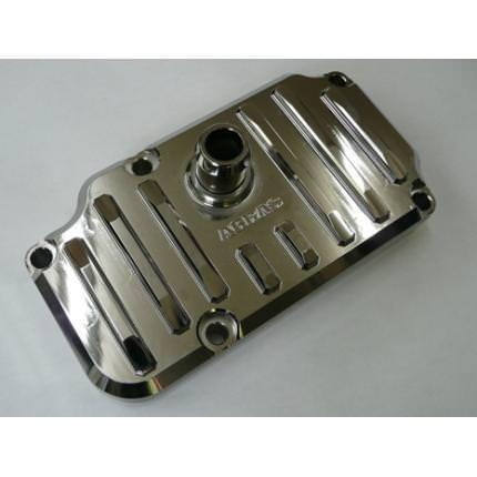 ブリーザーカバー メッキ AGRAS(アグラス) W800