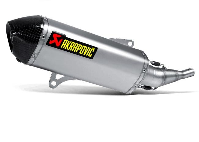 スリップオン ステンレス AKRAPOVIC(アクラポヴィッチ) X-MAX250(07〜14年)
