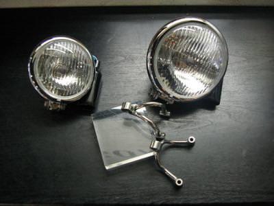 ヘッドライト(5-3/4)&ヘッドライトステーセット BoatRap(ボートラップ) W400