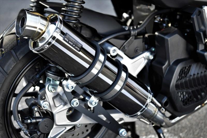 R-EVO マフラー SMB(スーパーメタルブラック)サイレンサー 政府認証 BMS-R(ビームス)