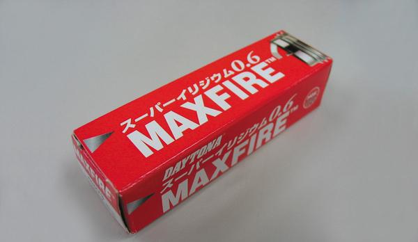 マックスファイア(MAXFIRE)スーパーイリジウムプラグ CR7HIX相当 DAYTONA(デイトナ) KYMCO ルッカー125(07年〜)