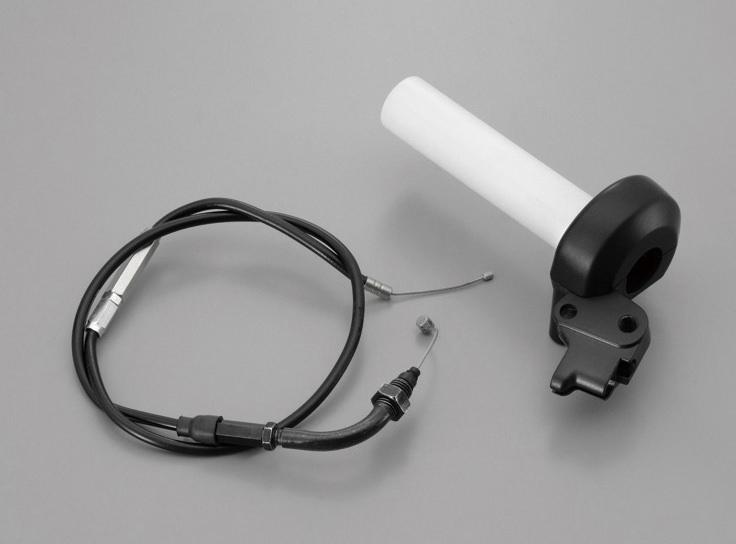 レトロハイスロ(ビッグキャブ対応品) アウター長680mm/ブラック ドラム用 DAYTONA(デイトナ) モンキー(MONKEY)/ゴリラ