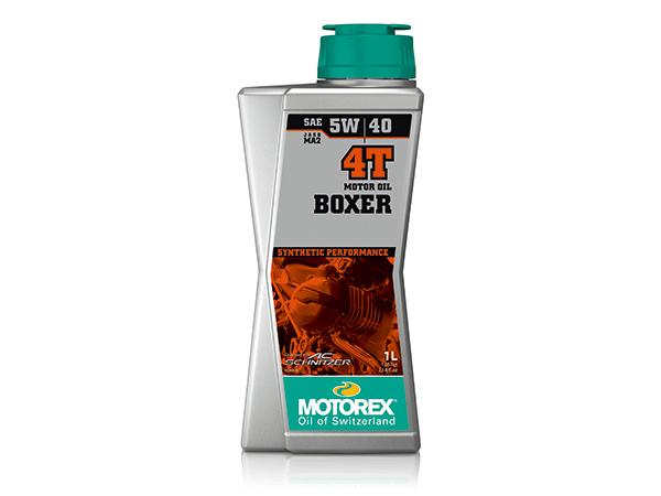 ボクサー 4T 5W-40 1リットル(4サイクルエンジンオイル) MOTOREX(モトレックス)