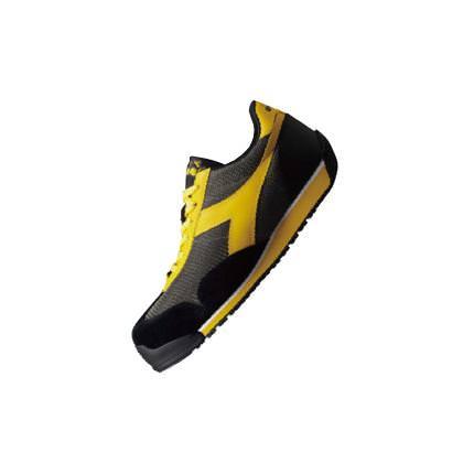 KITE(カイト)安全靴 グレー/イエロー DIADORA(ディアドラ)