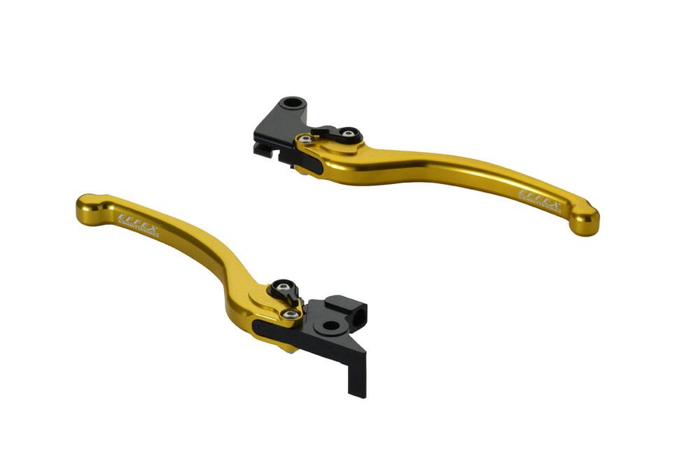 スムースフィットレバー ゴールド EFFEX(エフェックス) XSR700