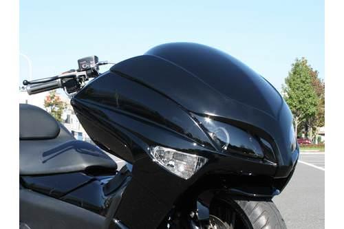 エアロキット フロントフェイス ブラック塗装 ETERNITY(エタニティー) マジェスティ250 4D9(MAJESTY)
