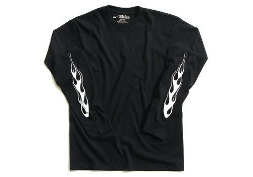 ERオリジナル ロングスリーブ Tシャツ(ERL07)フレア Lサイズ EASYRIDERS(イージーライダース)
