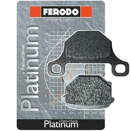 フロントブレーキパッド オーガニック PLATINUM(ロード)ダブルディスク用 FERODO(フェロード) NSR250R/SP/SE(94〜99年)