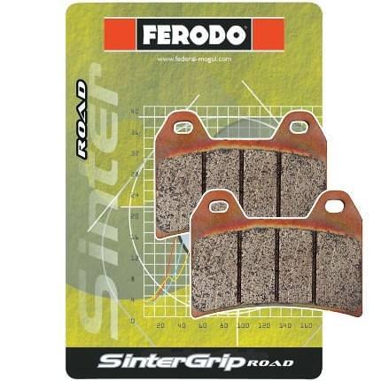 フロントブレーキパッド シンタード SINTERGRIP(ロード) ダブルディスク用 FERODO(フェロード) NSR250R/SP/SE(94〜99年)