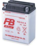 FB12A-A 液別開放型バッテリー(YB12A-A互換) 古河バッテリー(古河電池) GX400スペシャル