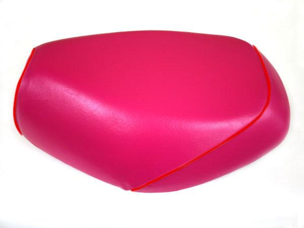 被せタイプ 国産シートカバー ピンク/赤パイピング GRONDEMENT(グロンドマン) タクト(TACT)AF30