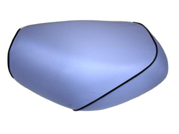 被せタイプ 国産シートカバー ライトブルー/黒パイピング GRONDEMENT(グロンドマン) タクト(TACT)AF30