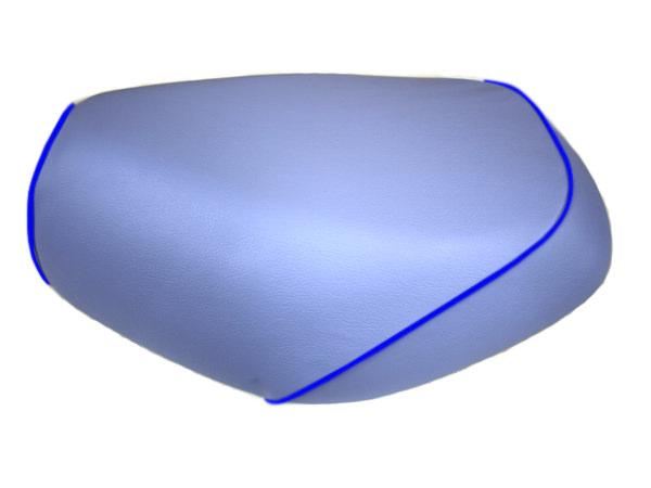 被せタイプ 国産シートカバー ライトブルー/青パイピング GRONDEMENT(グロンドマン) タクト(TACT)AF30