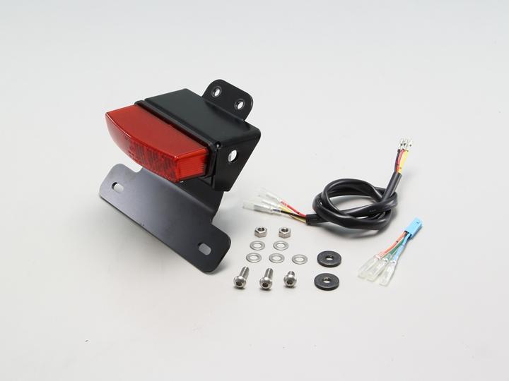 テールランプキット LEDレクタングル レッドレンズ HURRICANE(ハリケーン) レブル500(Rebel500)PC60