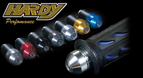 HH05 ロードバーエンドキャップ ガンメタル  ハーディー(HARDY)