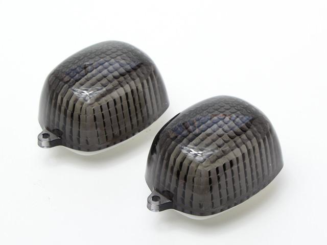 ウインカーレンズ スモーク 左右2枚セット JILLS(ジルズ) W400(EJ400A)