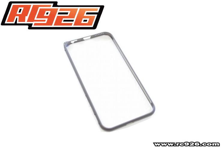 アルミバンパー【RC926】ガンメタ iphone6用 KN企画
