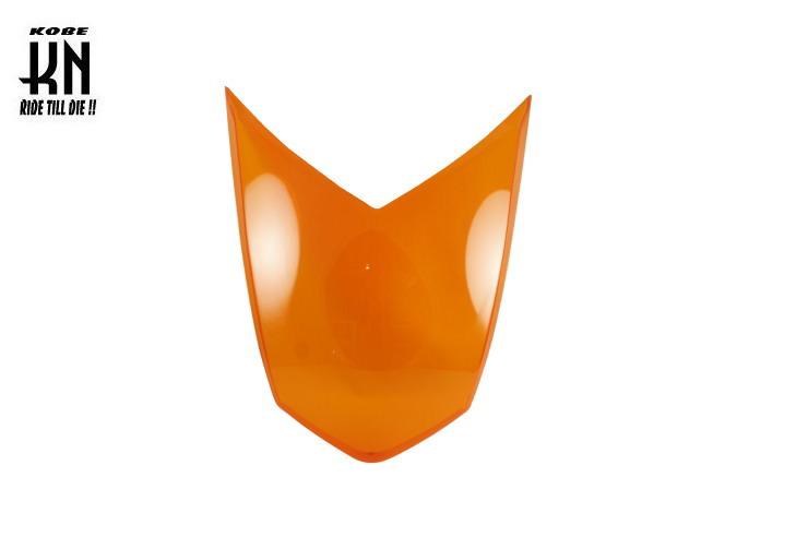 ヘッドライトレンズ オレンジ【理由あり品】 KN企画 シグナスX 3型(1MS/1YP)