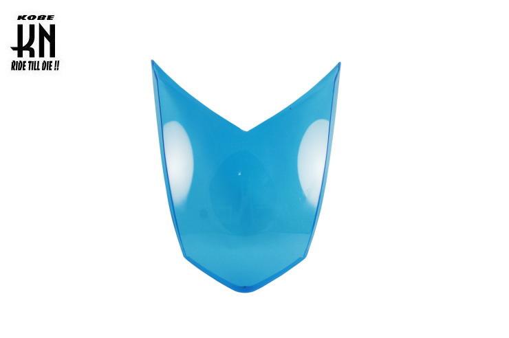 ヘッドライトレンズ ブルー KN企画 シグナスX(CYGNUS-X)4型