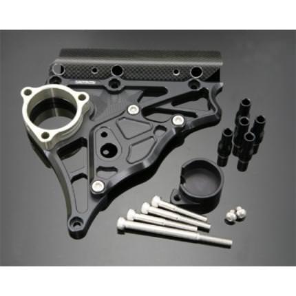フロントスプロケットカバー スーパーブラック K-FACTORY(ケイファクトリー) ZRX1200 DAEG(ダエグ)