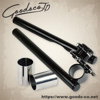 セパレートハンドル 22.2mm/Φ33 ブラック GOODS(モーターガレージグッズ)