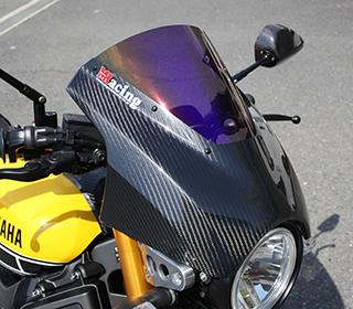 アッパーカウル 綾織りカーボン製 クリア MAGICAL RACING(マジカルレーシング) XSR900(16年)