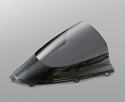 カーボントリムスクリーン 平織りカーボン製・スーパーコート MAGICAL RACING(マジカルレーシング) ZX-14R(12年〜)