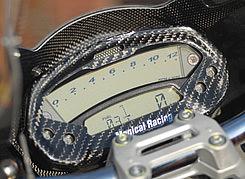 メーターカバー 綾織りカーボン製 MAGICAL RACING(マジカルレーシング) DUCATI Monster696