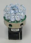 イレブンビーム テールライトクルクル回転 赤色 ウエッジダブル型 差込幅16mm W3×16q 1個入り M&H(マツシマ)