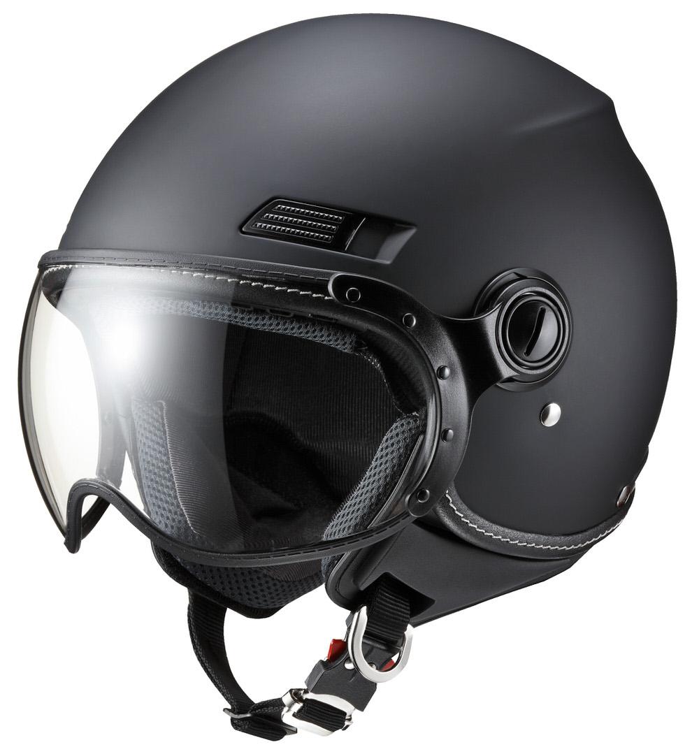 ヘルメット MS-340 マットブラック Lサイズ MARUSHIN(マルシン)
