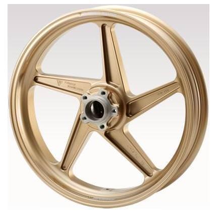 SRX400/600(III型)ホイールMAGTAN(マグタン)JB2セット【フロント:3.50-17】【リア:4.50-17】ゴールド