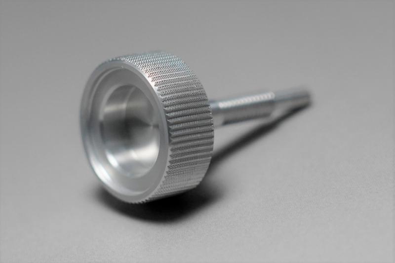 KEIHIN PC20キャブレター用アイドリングアジャスター銀 MINIMOTO(ミニモト)