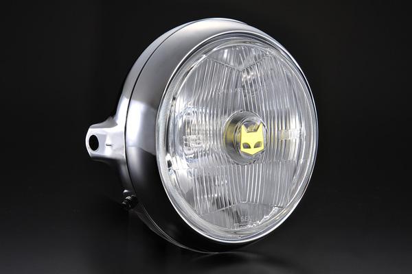 888ドライビングランプフルキット 160m クリアーレンズ汎用ヘッドライト メッキケース MARCHAL(マーシャル)