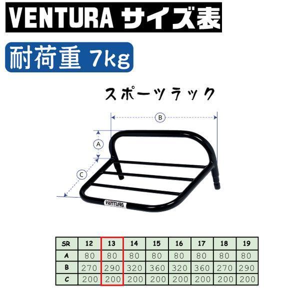 スポーツラック シルバー VENTURA(ベンチュラ) VTX1300S(06年)