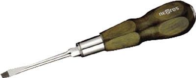 ND3M-06 木柄ドライバ貫通タイプ【マイナス】6mm NEPROS(ネプロス)