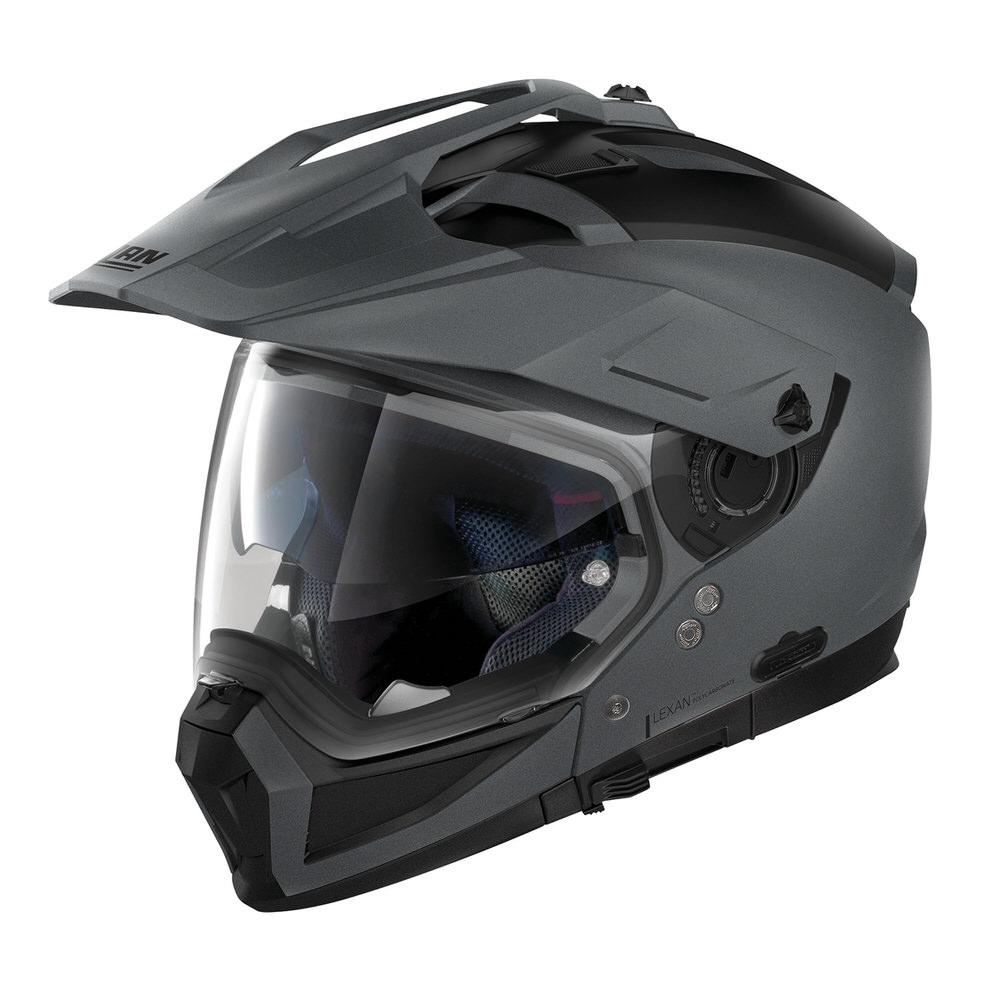 NOLAN N702X ソリッド フラットバルカングレー/2 Sサイズ(アドベンチャークロスオーバーヘルメット) NOLAN(ノーラン)