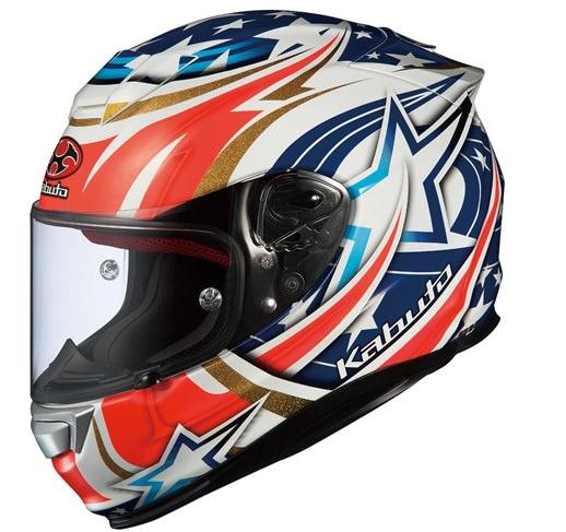 RT-33 ACTIVE STAR ホワイト Lサイズ フルフェイスヘルメット OGK