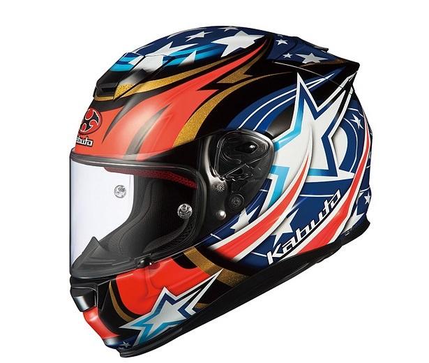 RT-33 ACTIVE STAR ブラック Mサイズ フルフェイスヘルメット OGK